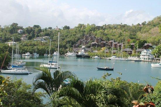 Mango Beach Inn: View from the Harbor Room
