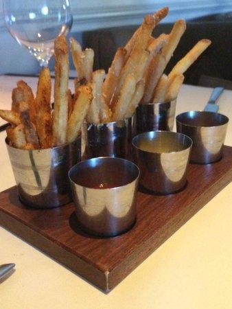 Bourbon Steak: Spcial fries