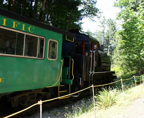 Alberni Pacific Railway: Sawmill Station