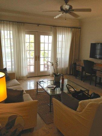 Belmond La Samanna: Room A20 living room