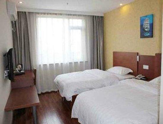 Super 8 Hotel Shanghai Jinshan Xuefulu Chengshi Sha Tan : Twin Bed Room