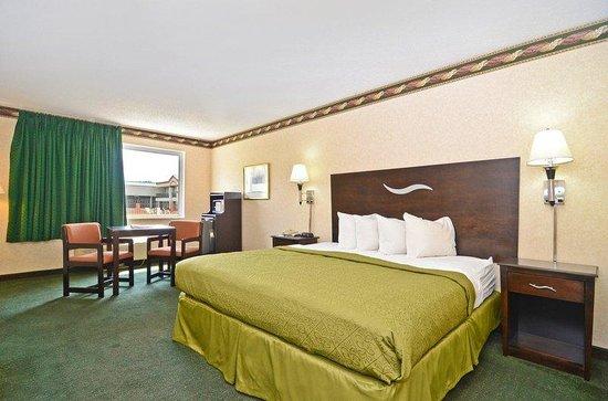 Red Carpet Inn-Carneys Point/Wilmington : King Bed Interior Corridor