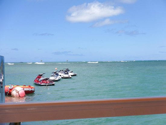 H2O Sports Hawaii - Seabreeze Watersports: From the floating dock