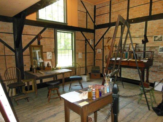 Thomas Cole National Historic Site : Cole's Studio