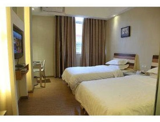 Super 8 Shantou Xiashan Huamei Road : Twin Bed Room