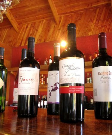Hotel Puku Vai: Chilean wines, all carefully selected