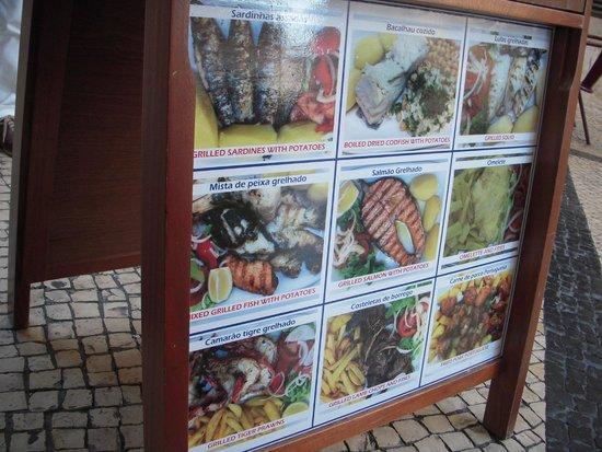 Joao do Grao: 店頭の料理写真