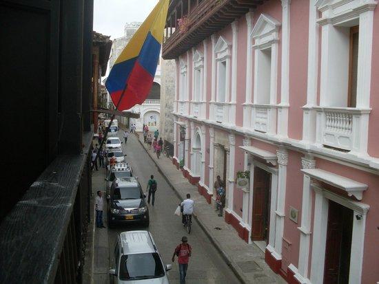 Centro Hotel: Desde el balcon del hotel