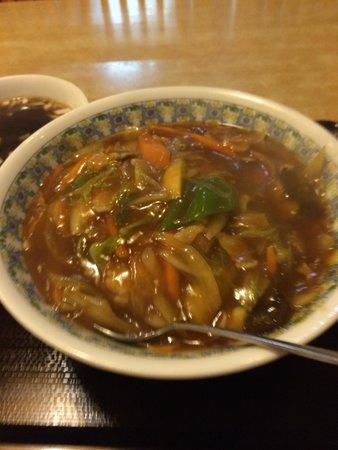 Ikoishokudo: 中華丼大盛り