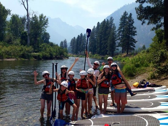 Wildwater River Guides: Amazing time SUPing on Icicle Creek!