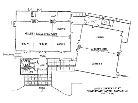 The Lodge at Eagle Crest: Exhibit Hall Map