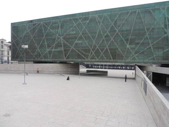 Museo de la Memoria y los Derechos Humanos: Rampa de acesso