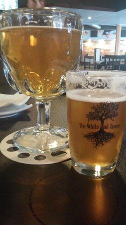 The White Oak Tavern: New Belgium Pluot and Nebraska Brewing Company Aged Hop God