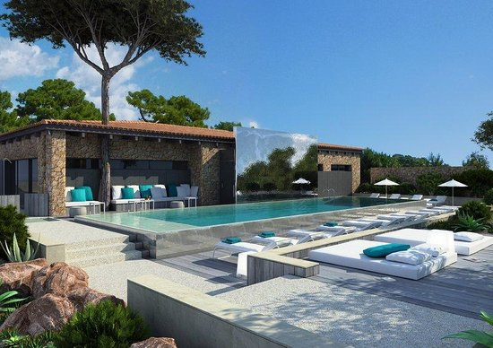 La plage casadelmar jul 2016 corsica lecci hotel for Casas jardin del mar