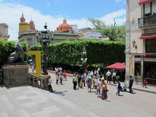 Jardin de la Union, GTO, Mex