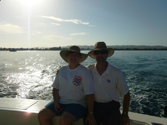 Stanley's Deep Sea Fishing: View from the back of the boat