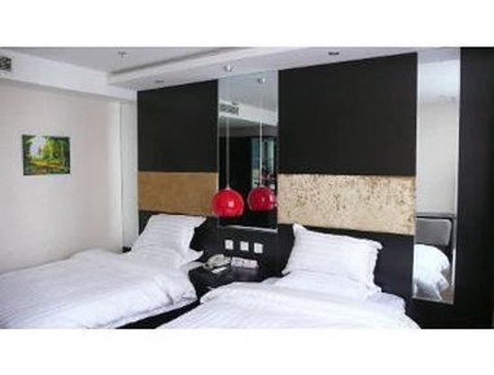 Super 8 Hotel Beijing XI Zhi Men Jiaotong University Dong LU: Two Twin Bed Guest Room