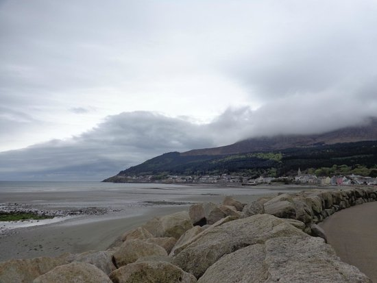 Slieve Donard Resort and Spa: view from hotel grounds