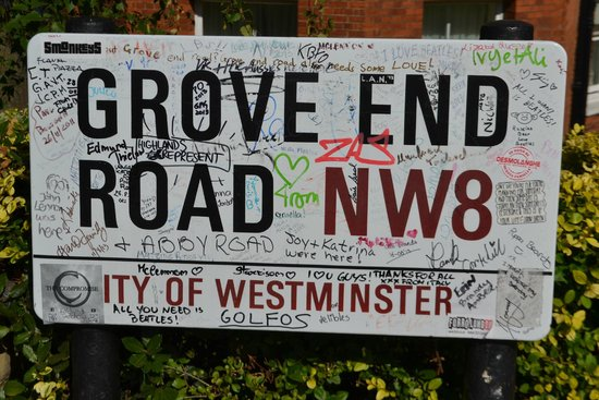 Abbey Road: A rua dos Beatles!