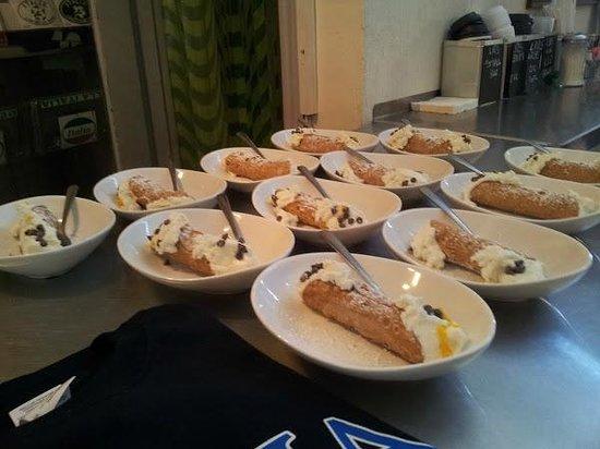 Avital Food Tours: real Italian canolli...