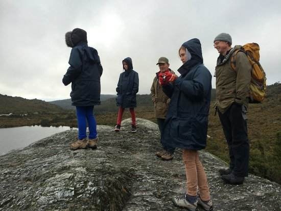Peppers Cradle Mountain Lodge : Dove Lake walk 6km walk with guide John.