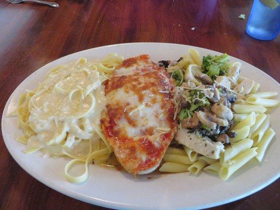 Johnny Russo's Italian Kitchen: Russo Rio for 2 dish
