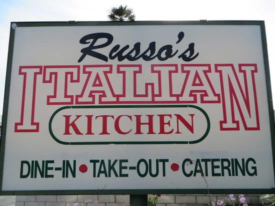 Johnny Russo's Italian Kitchen: Sign