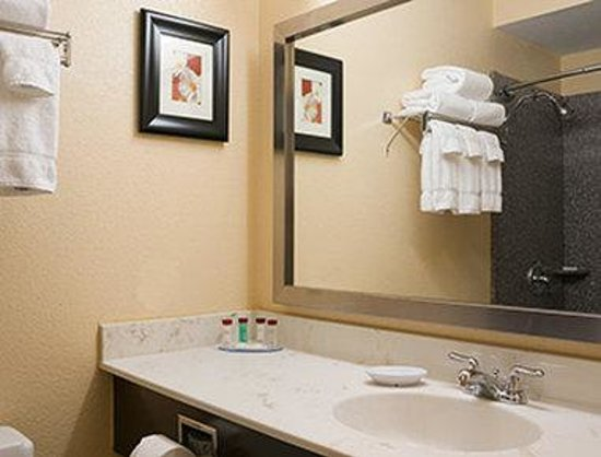 Ramada Greensburg Hotel and Conference Center: Bathroom