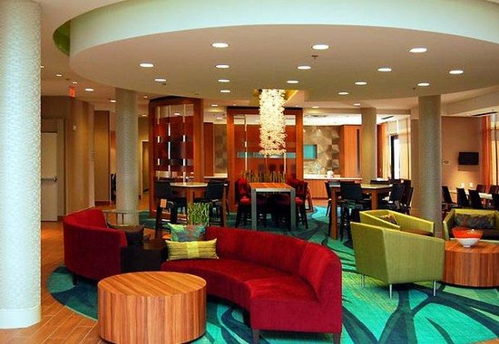 SpringHill Suites Las Vegas North Speedway: Lobby Lounge