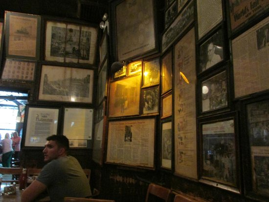 McSorley's Old Ale House: The Walls