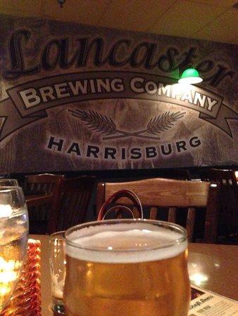 Lancaster Brewing Company Harrisburg: My pale ale was creamy!