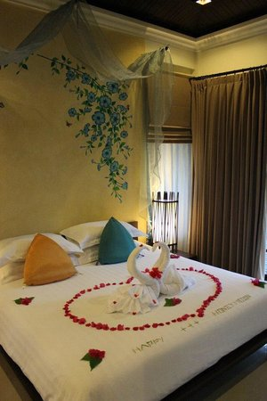 The Passage Samui Villas & Resort : A warm welcome to our Honeymoon