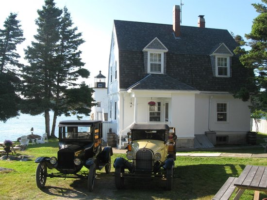 The Keeper's House and their vintage transportation