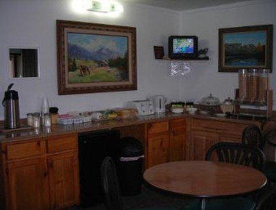 Cozy Inn: Breakfast Area