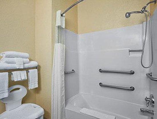 Days Inn & Suites Benton Harbor MI: ADA Bathroom