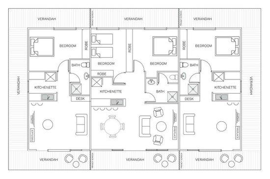 Homestead Floorplan Picture Of H Boutique Hotel Pokolbin Tripadvisor