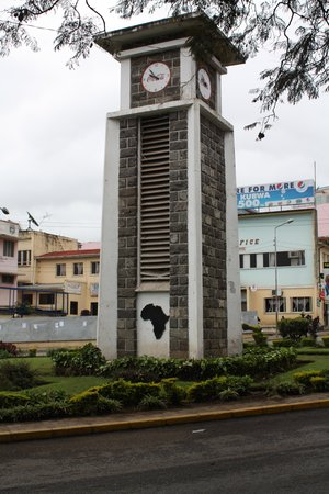 The Arusha Hotel: Clock tower
