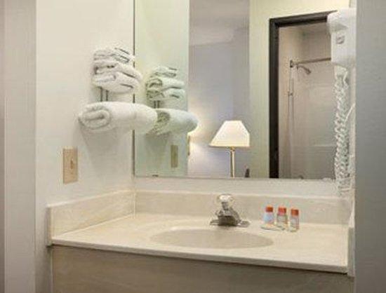 Days Inn Stoughton WI: Bathroom