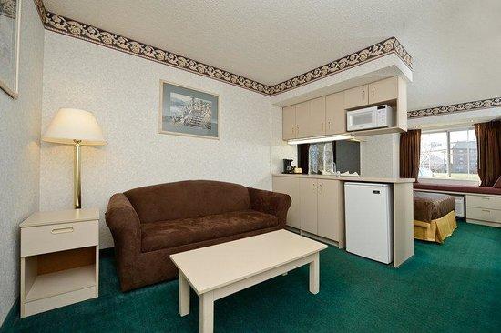 Americas Best Value Inn & Suites, Sunbury/Delaware,Ohio : In Room Amenities