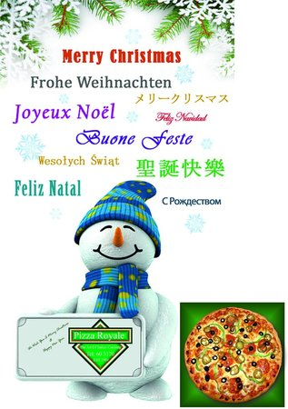 Pizza Royale: NEW YEAR CARD