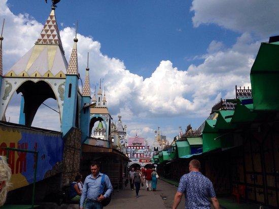 Izmailovsky Market : ทางเข้า