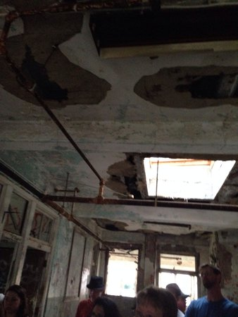 Waverly Hills Sanatorium: 5th floor outside room 502 where the nurse was found hanging.