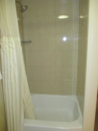 Outrigger Waikiki Beach Resort : Shower & small tub combo