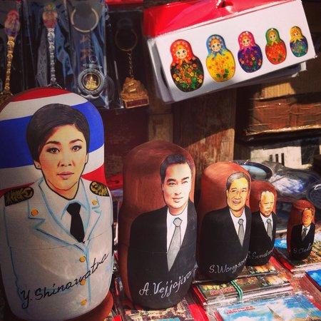 Izmailovsky Market : ตุ๊กตาเเม่ลูกดกเวอร์ชั่นไทย ... เอิ่ม ...