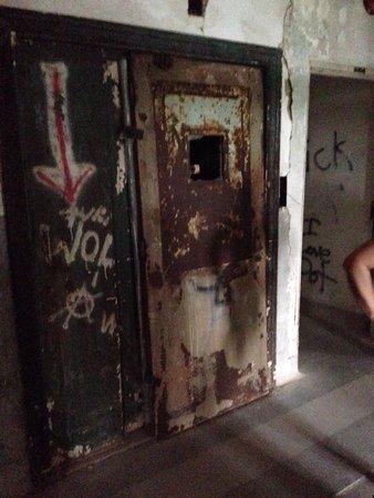 Waverly Hills Sanatorium: Elevator shaft where a homeless man & his dog were found murdered.