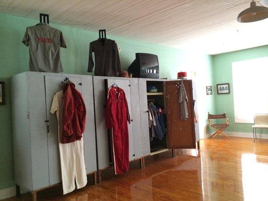 Key West Firehouse Museum : Lockers