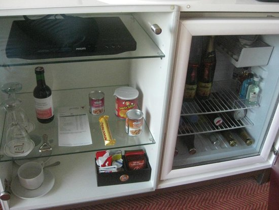 Vienna House Andel's Prague: mini bar