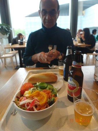 Van-Gogh-Museum: A cafeteria compensa