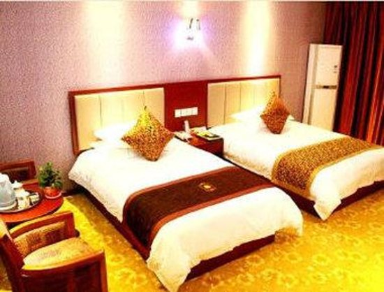 Super 8 Shiyan Beijing Middle Road : Two Twin Bed Guest Room