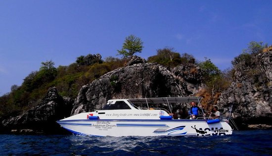 Aqua Vision Scuba Diving : Andaman Dream fast boat after renovation 2014